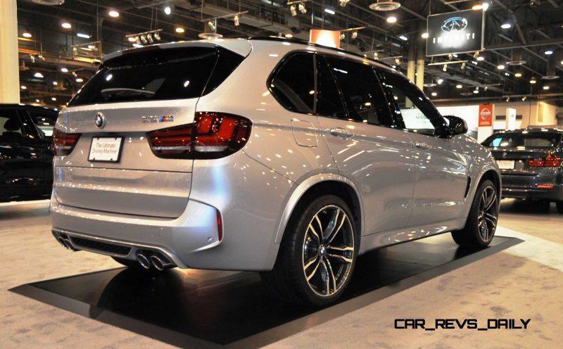Houston Auto Show - 2015 BMW X5 M 4
