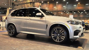 Houston Auto Show - 2015 BMW X5 M 7