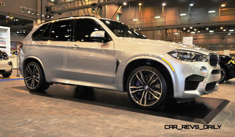 Houston Auto Show - 2015 BMW X5 M 8
