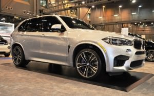 Houston Auto Show - 2015 BMW X5 M 9