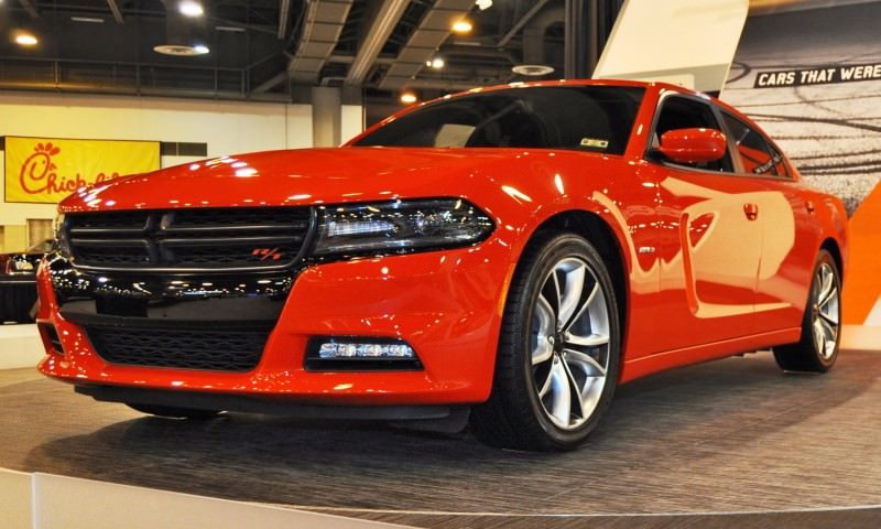 Houston Auto Show - 2015 Dodge Charger 1