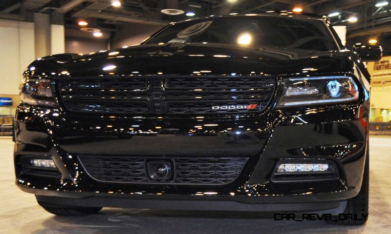 Houston Auto Show - 2015 Dodge Charger 12