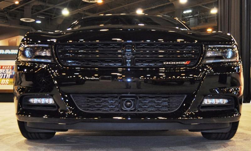 Houston Auto Show - 2015 Dodge Charger 13