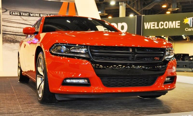 Houston Auto Show - 2015 Dodge Charger 3