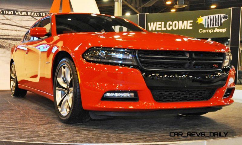 Houston Auto Show - 2015 Dodge Charger 4