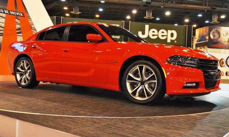Houston Auto Show - 2015 Dodge Charger 5