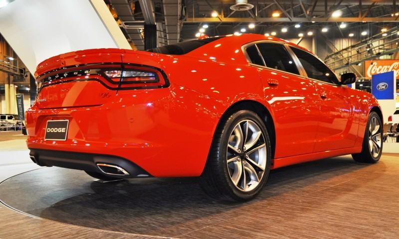 Houston Auto Show - 2015 Dodge Charger 7