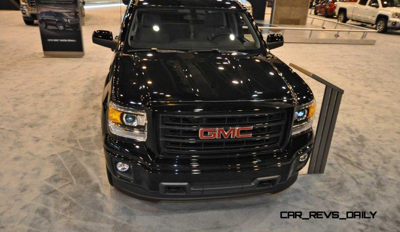 Houston Auto Show - 2015 GMC Sierra Elevation Edition 10