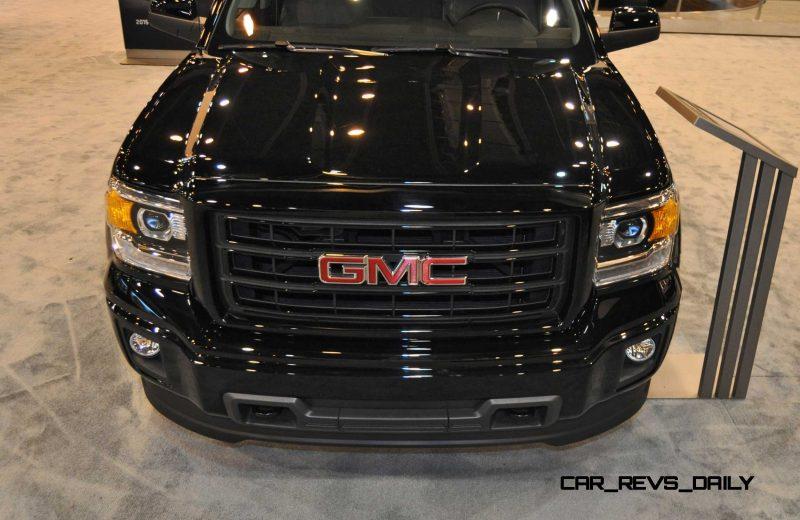 Houston Auto Show - 2015 GMC Sierra Elevation Edition 12