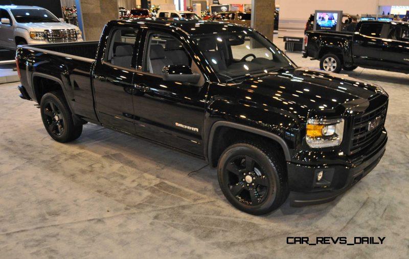 Houston Auto Show - 2015 GMC Sierra Elevation Edition 5