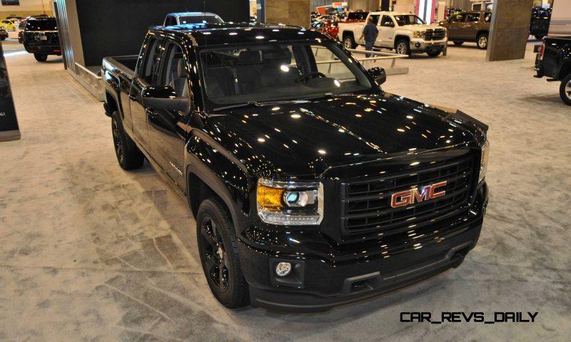 Houston Auto Show - 2015 GMC Sierra Elevation Edition 8
