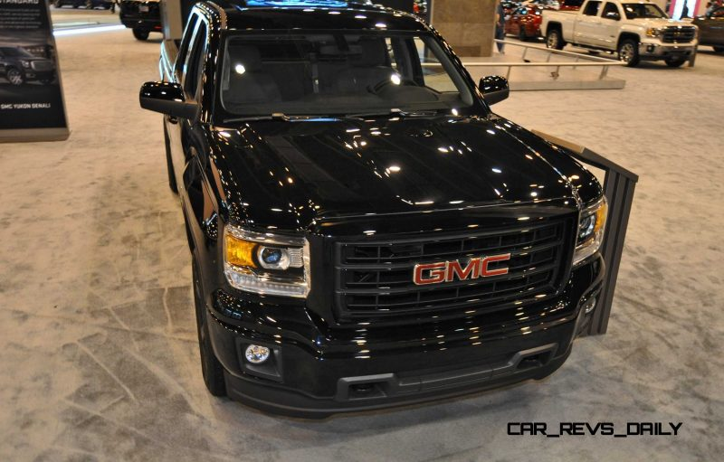 Houston Auto Show - 2015 GMC Sierra Elevation Edition 9