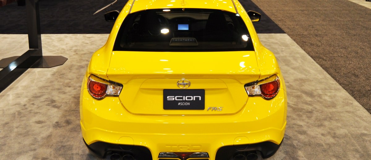Houston Auto Show - 2015 Scion FR-S RS1 Is Damn Sexy In Real-Life 11