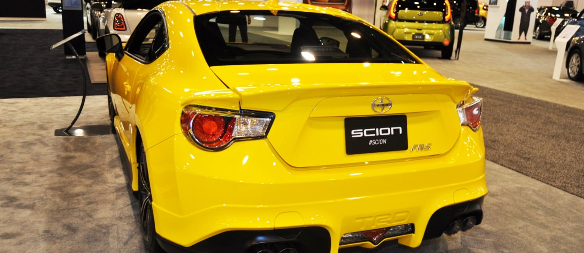 Houston Auto Show - 2015 Scion FR-S RS1 Is Damn Sexy In Real-Life 12