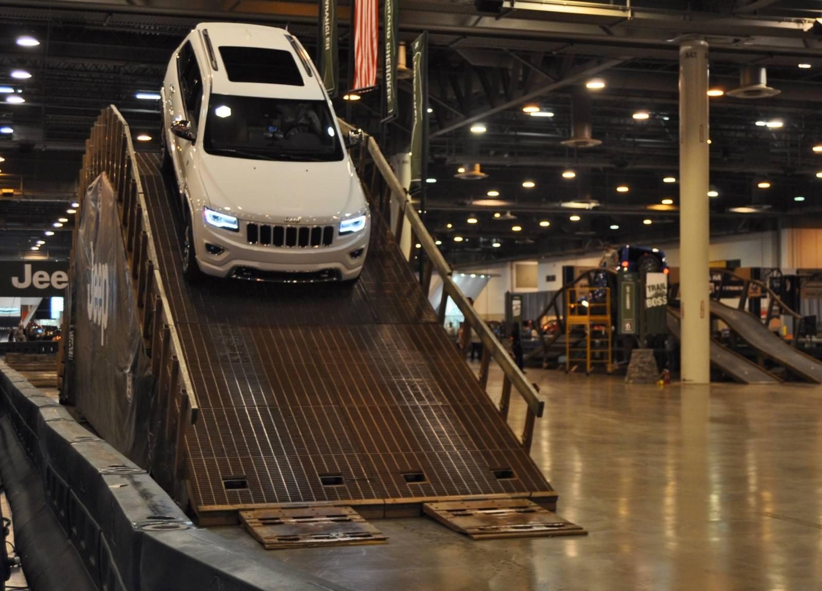 Houston Auto Show - Camp JEEP