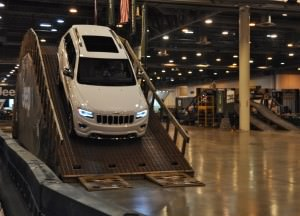 Houston Auto Show - Camp JEEP 23
