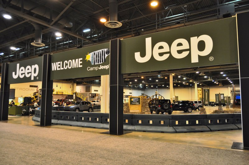 Houston Auto Show - Camp JEEP 29