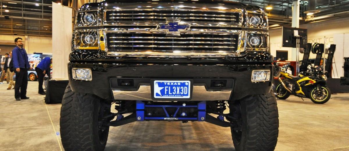 Houston Auto Show Customs - Top 10 LIFTED TRUCKS 14