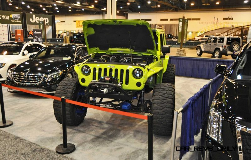 Houston Auto Show Customs - Top 10 LIFTED TRUCKS 15