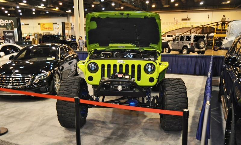 Houston Auto Show Customs - Top 10 LIFTED TRUCKS 16