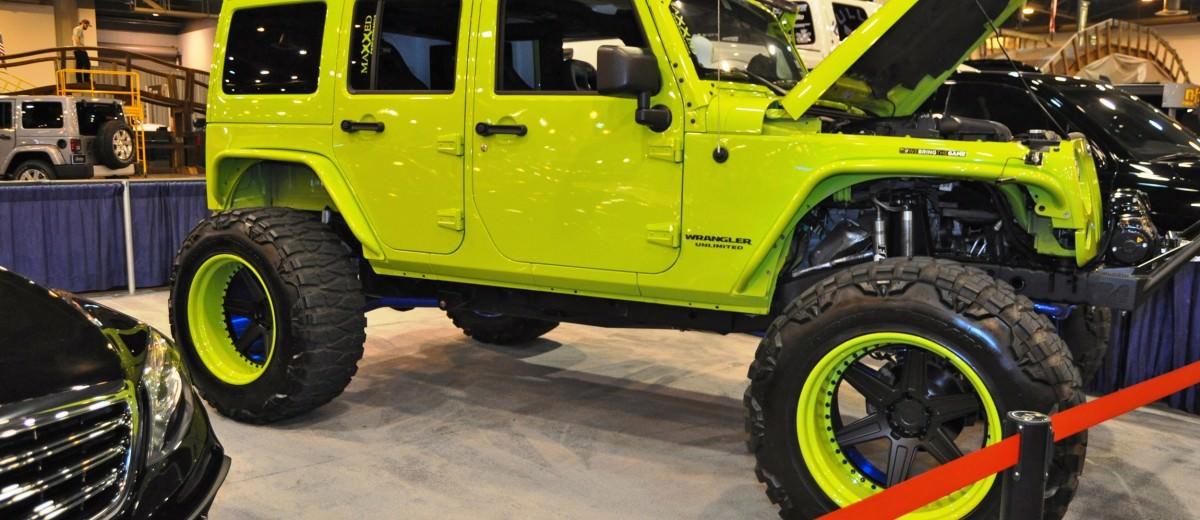 Houston Auto Show Customs - Top 10 LIFTED TRUCKS 18