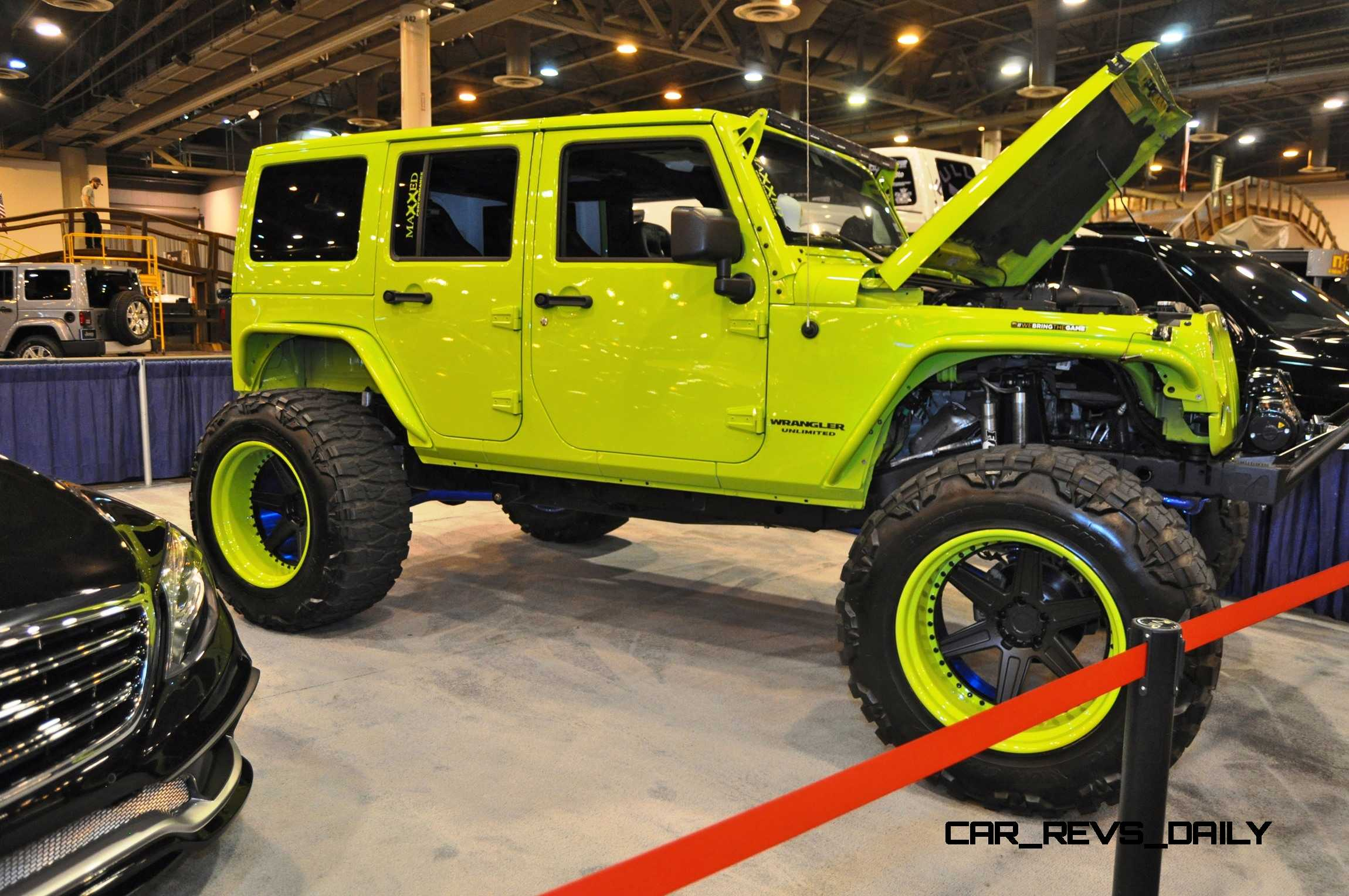Houston Auto Show Customs Top LIFTED TRUCKS - Car and truck shows near me