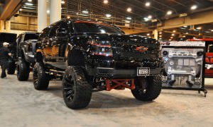Houston Auto Show Customs - Top 10 LIFTED TRUCKS 19