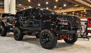 Houston Auto Show Customs - Top 10 LIFTED TRUCKS 20