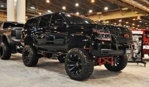 Houston Auto Show Customs - Top 10 LIFTED TRUCKS 20