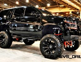 Houston Auto Show Customs – Top 10 LIFTED TRUCKS!