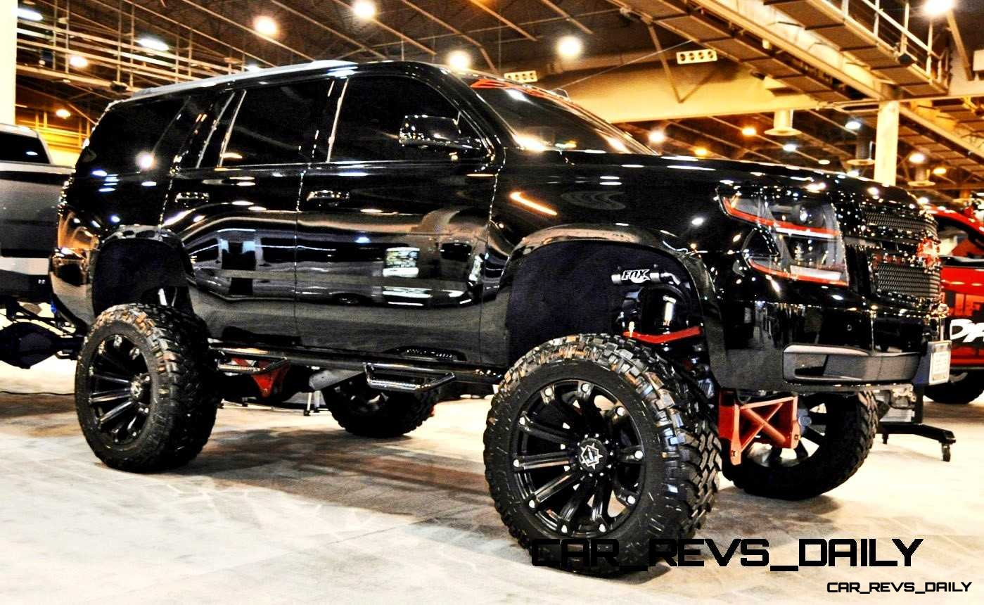 Houston Auto Show Customs – Top 10 LIFTED TRUCKS!
