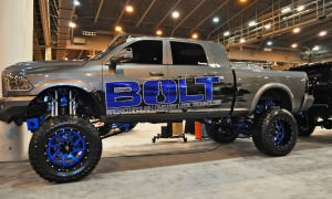 Houston Auto Show Customs - Top 10 LIFTED TRUCKS 24