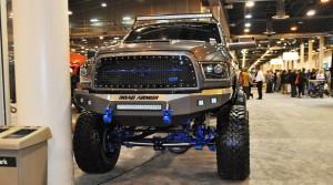 Houston Auto Show Customs - Top 10 LIFTED TRUCKS 28
