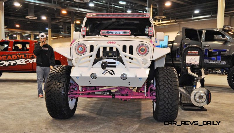 Houston Auto Show Customs - Top 10 LIFTED TRUCKS 29