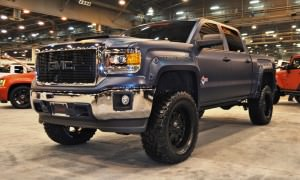 Houston Auto Show Customs - Top 10 LIFTED TRUCKS 3