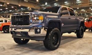 Houston Auto Show Customs - Top 10 LIFTED TRUCKS 3