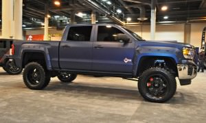 Houston Auto Show Customs - Top 10 LIFTED TRUCKS 36