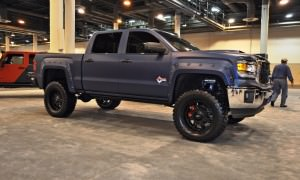 Houston Auto Show Customs - Top 10 LIFTED TRUCKS 37