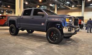 Houston Auto Show Customs - Top 10 LIFTED TRUCKS 38