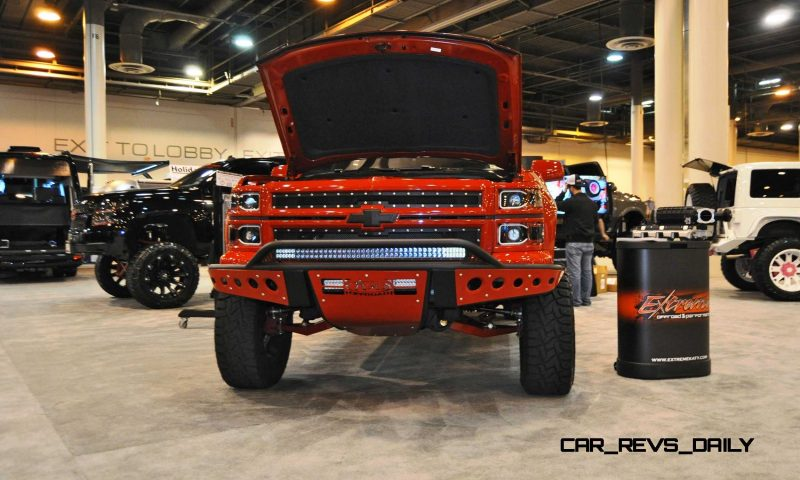 Houston Auto Show Customs - Top 10 LIFTED TRUCKS 40