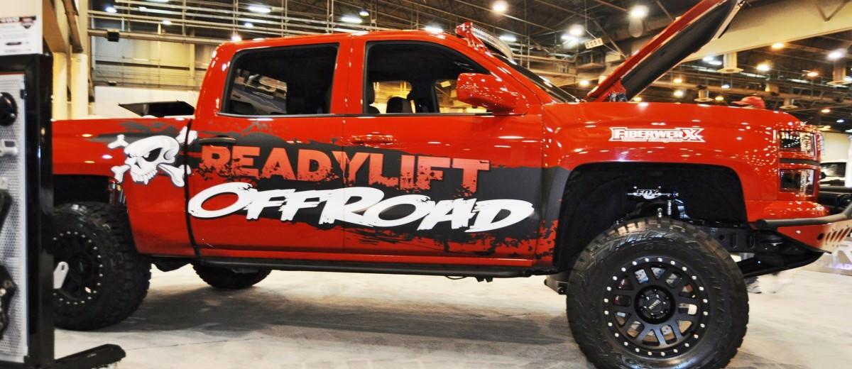 Houston Auto Show Customs - Top 10 LIFTED TRUCKS 42