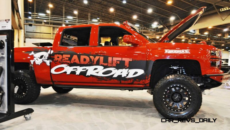 Houston Auto Show Customs - Top 10 LIFTED TRUCKS 42
