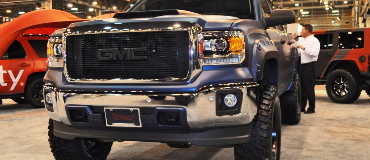 Houston Auto Show Customs - Top 10 LIFTED TRUCKS 43