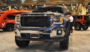 Houston Auto Show Customs - Top 10 LIFTED TRUCKS 44