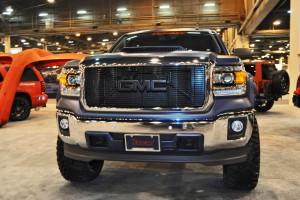 Houston Auto Show Customs - Top 10 LIFTED TRUCKS 45
