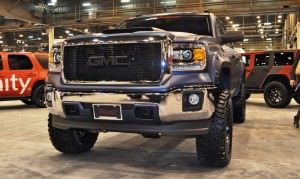 Houston Auto Show Customs - Top 10 LIFTED TRUCKS 5