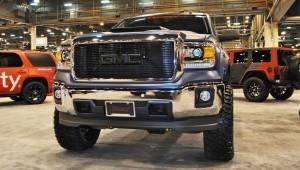 Houston Auto Show Customs - Top 10 LIFTED TRUCKS 6