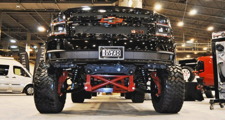 Houston Auto Show Customs - Top 10 LIFTED TRUCKS