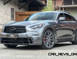 Infiniti QX70 by AHG-Sports Shows Great Style and Stance
