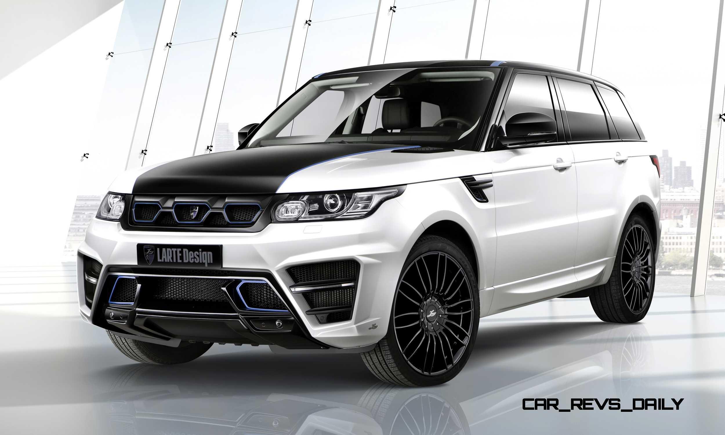 New Range Rover >> LARTE Design Range Rover Sport
